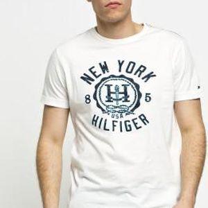 Tommy Hilfiger - T-shirt Finn Tee - bílá, L