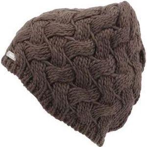 Tmavě šedá pletená čepice Bench Lannah-B
