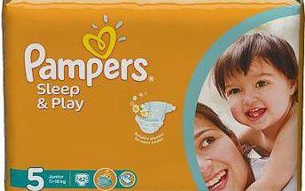 Pampers Sleep&Play Pleny 5 Junior 42 ks