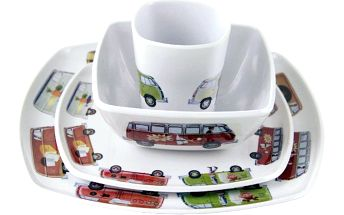 Set nádobí VW Designs, 4 ks