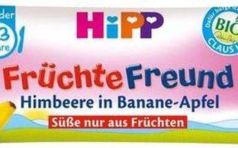 HiPP BIO Oplatka Banán-Jablko-Maliny 25g