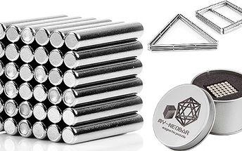 Neobars - magnetická stavebnice !! 3D tyčinky/válečky !!
