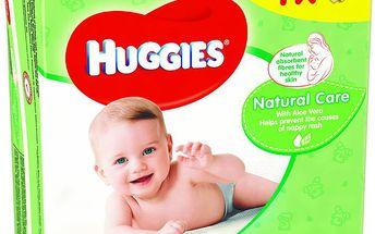 Huggies Natural Care Quatro Pack (56x4)