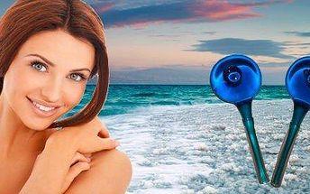 Ruční čištění pleti kosmetikou z Mrtvého moře s masáží kuličkami krásy