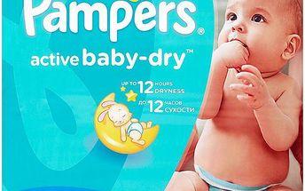 Pampers Active Baby-Dry Dětské jednorázové pleny 3 midi 90 ks