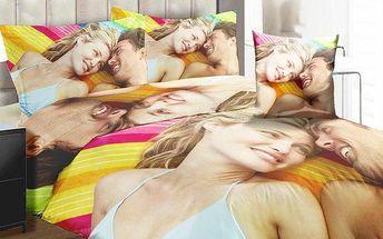 Originální povlečení na polštář a deku s potiskem vaší vlastní fotografie