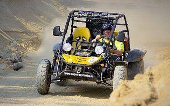 30minutová adrenalinová jízda v Buggy vč. PHM