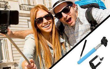 Ručni selfie stativ! hit roku 2016! Vyfoť tu nejlepší selfie!