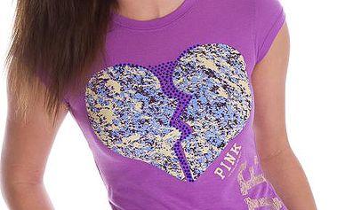 Dámské tričko Victoria's Secret fialové