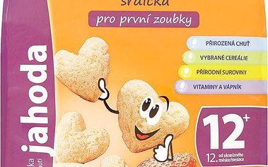Sunarka Srdíčka s příchutí jahoda pro první zoubky 50 g