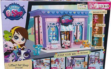 Littlest Pet Shop Hrací set Pet Shop Oboom