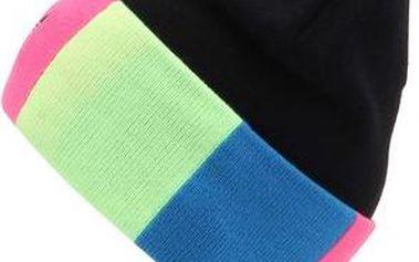 Černý kulich s barevnými pruhy adidas OriginalsColor block