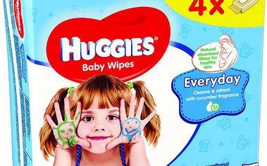 Huggies Everyday Quatro Pack (56x4)