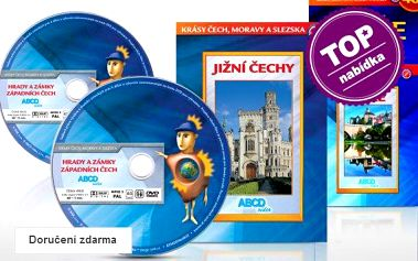 Sady cestopisných filmů na DVD