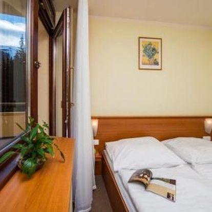 Slovensko, oblast Nízké Tatry, doprava vlastní, polopenze, ubytování v 3* hotelu na 8 dní