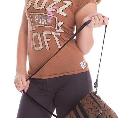 Dámské tričko Victoria's Secret hnědé
