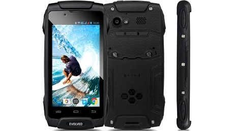 Evolveo StrongPhone Q8 LTE (SGP-Q8-LTE-B) černý + Doprava zdarma