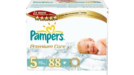 Pampers Premium Care pleny Junior, 11-18 kg, vel. 5 88 ks