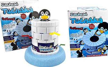Zachraň tučňáka - úžasná stolní hra
