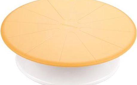TESCOMA otočný stojan na dort DELÍCIA DECO ø 29 cm, žlutá