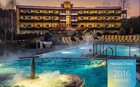 Luxusní pobyt pro 1 osobu v termálním světě Rakouska v TOP 4* hotelu se spoustou prestižních ocenění