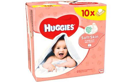 Huggies wipes Soft Skin 10x56ks