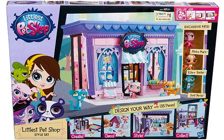 Littlest Pet Shop Hrací set Pet Shop Oboom