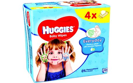 Huggies Everyday Quatro Pack (56x4)