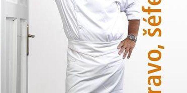 Pohlreich Zdeněk: Bravo, šéfe! Zdeněk Pohlreich vaří mezinárodní kuchyni (+ DVD)