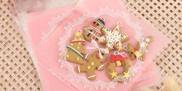 Vánoční sáčky na cukrovinky - balení 100 kusů