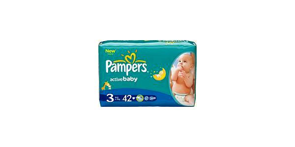 Pampers Plenky ABD Midpack S3 42