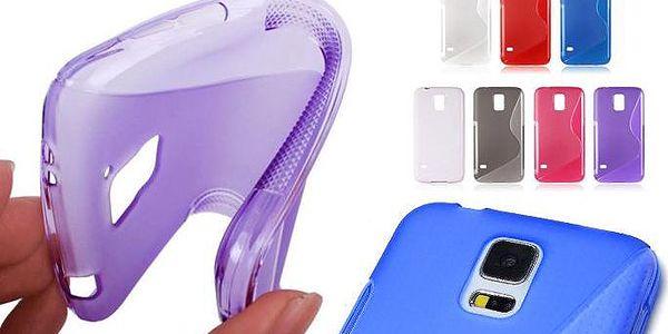 Barevné ochranné kryty S-line na telefon Samsung Galaxy S5 včetně folie