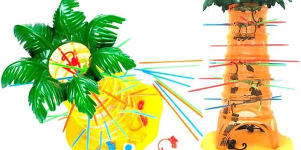 Padající opičky - společenská hra. Kompletně v češtině!!