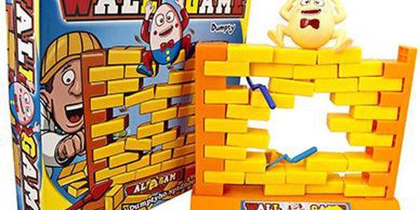 Pan Vajíčko - padající zeď!! Společenská hra - kompletně v češtině