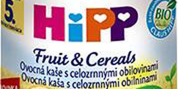 HiPP BIO Ovocná kaše s celozrnnými obilovinami 6x190g