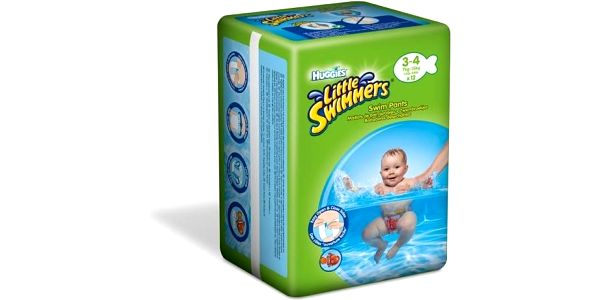 Huggies Little Swimmers 3-4/7-15 kg (12 ks)