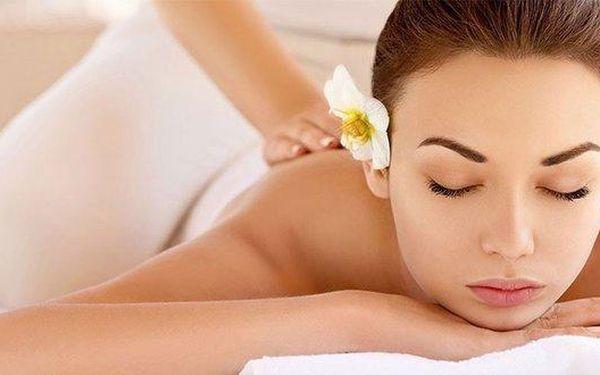 100 minut relaxace - výběr z 5 druhů masáží…