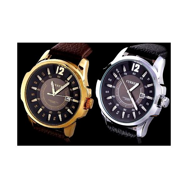 Pánské elegantní hodinky Curren!! Vytříbený styl!!