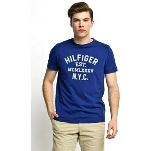 Tommy Hilfiger - T-shirt Hays Tee - tmavomodrá, M