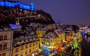 Adventní Lublaň s ubytováním - vánoční trhy i lázeňský relax - dva prosincové termíny
