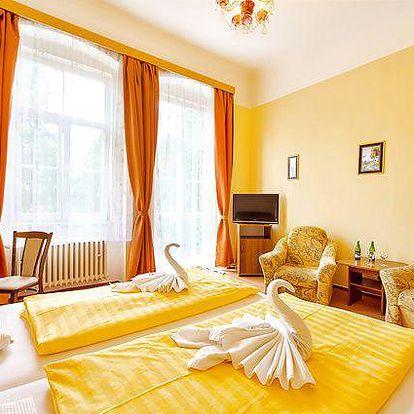 3–5denní lázeňský pobyt pro 2 osoby ve Františkových Lázních v lázeňském domě Sevilla***