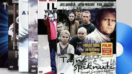 DVD sada 15 nebo 25 zahraničních filmů