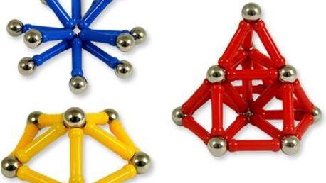 Magnetická stavebnice Magnetic - 84 dílků