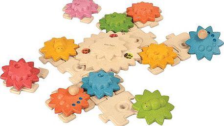 Plan Toys Puzzle ozubená kolečka