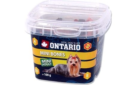 Ontario Mini Bones Snack 100 g