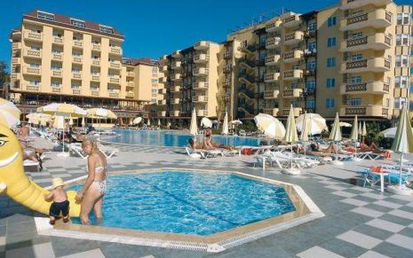 Turecko, oblast Alanya, doprava letecky, all Inclusive, ubytování v 4* hotelu na 15 dní