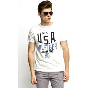 Tommy Hilfiger - T-shirt Andrew Tee - bílá, L
