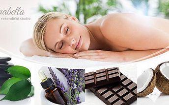 60min. masáž dle vašeho výběru ve Studiu Anabella. Lávové kameny, čokoládová, baňkování a 7 dalších druhů!