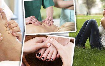 Kurz reflexologie ruky, nohy, ucha nebo kurz Reflexologie Joni aneb reflexologie pro ženy.