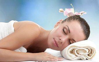 Kasická relaxační masáž zad